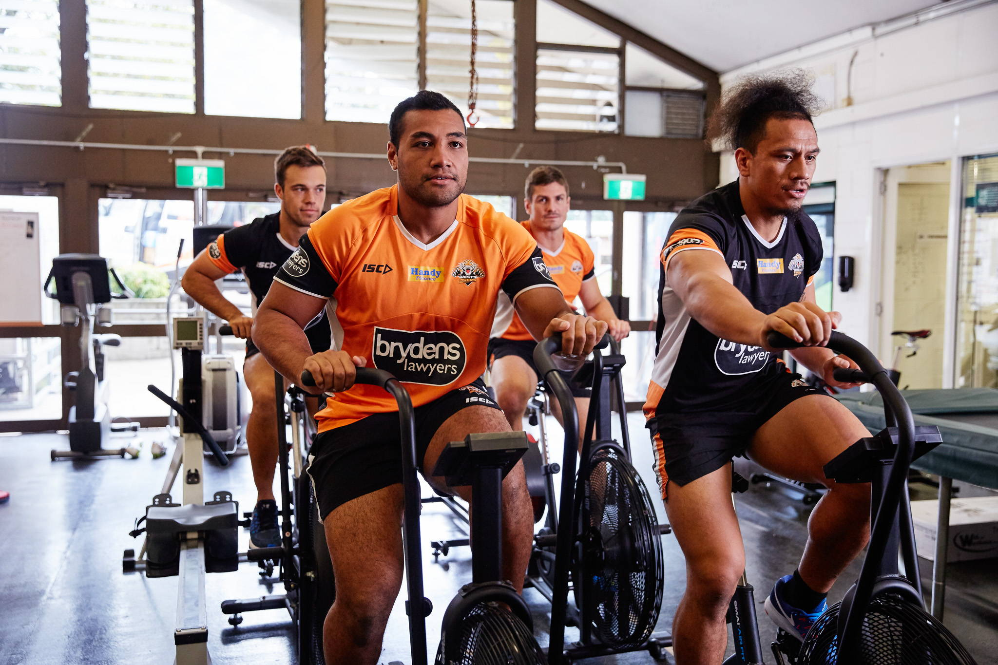 Wests Tigers Gym Fit Out