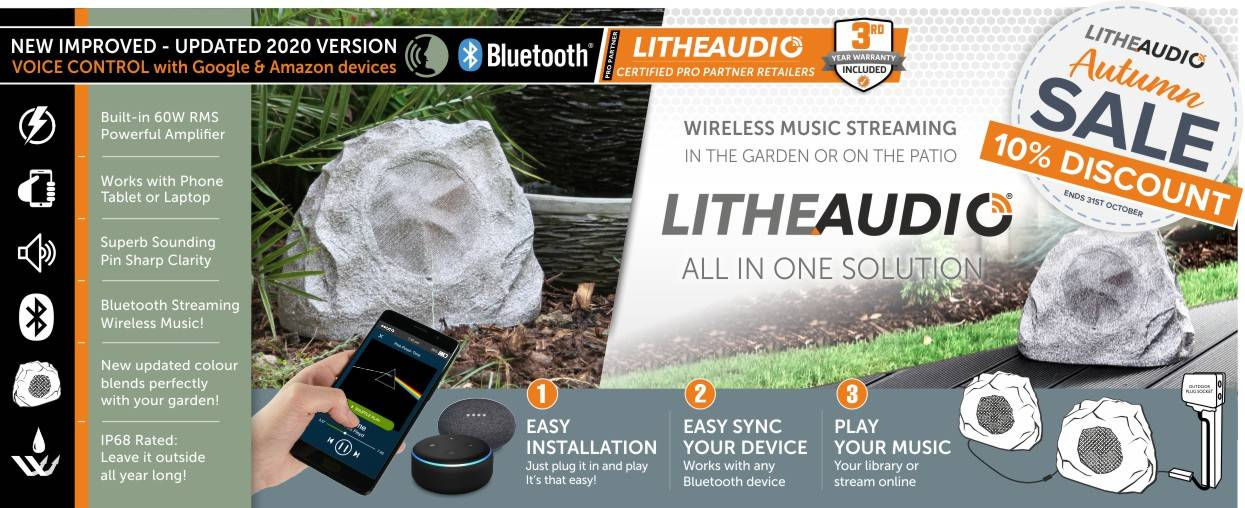 Lithe Audio 10% Discount at Audio Volt in the month of October