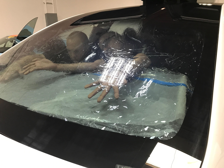 Tesla Model X windshield in a seamless piece | Autoskinz
