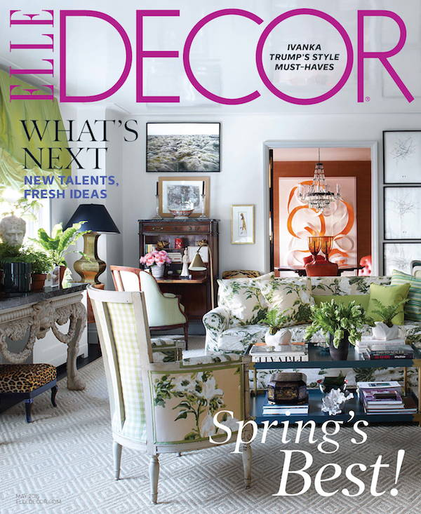 The Exchange Int featured in Elle Decor with largest collection of Paavo Tynell