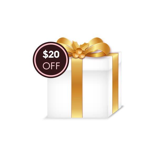 $20 OFF Gift Code