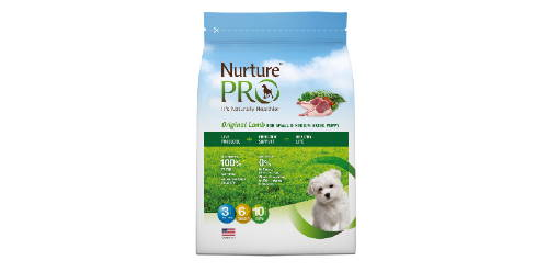 nurture pro original small and medium breed puppy dry dog food