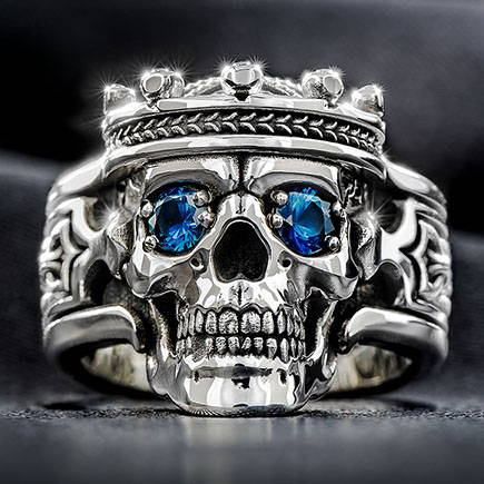Sterling Silver Rings by NightRider Jewelry