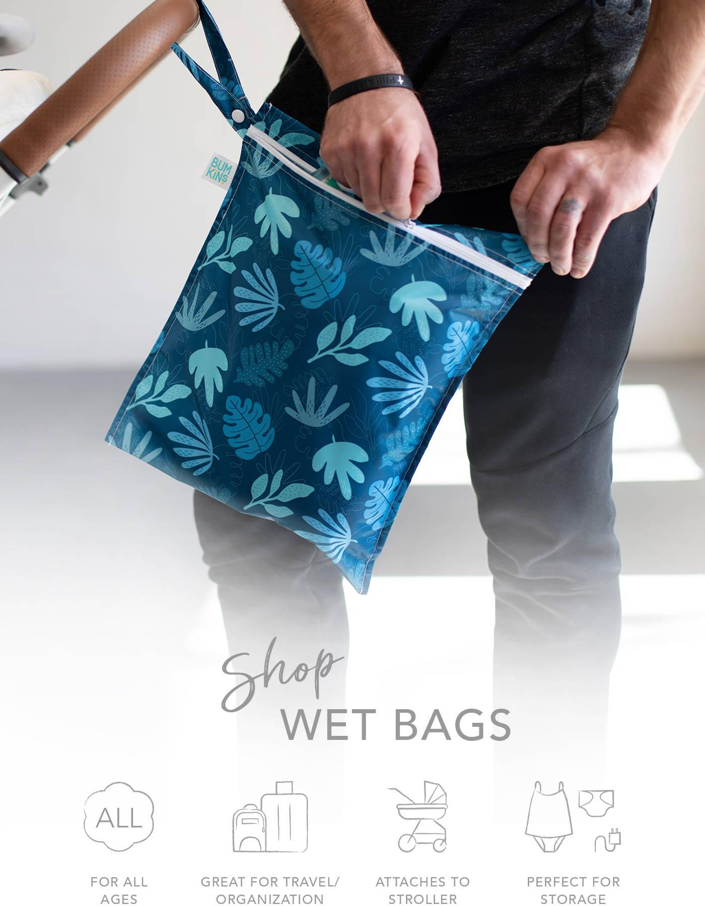 Diaper Bag Menstraul Pad Bag Wet Bag Snack Bag Cloth Diaper Bag Bathing Suit Bag Cloth Pad Bag