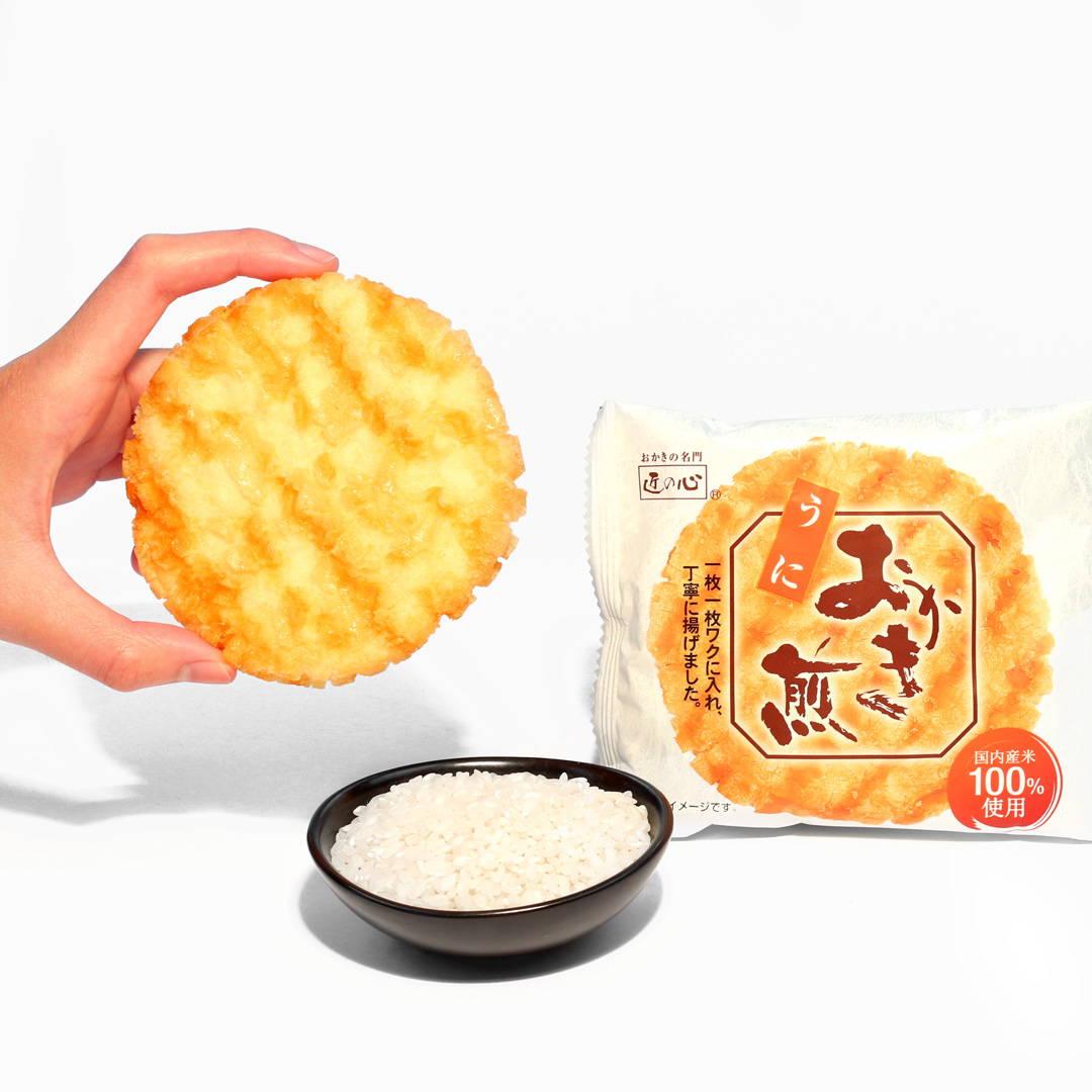Danran Okaki Rice Crackers: Uni