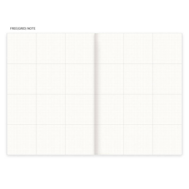 Free note - Eedendesign 2020 Hello month B5 dated monthly planner