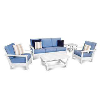 POLYWOOD HARBOUR DEEP SEATING SOFA SET