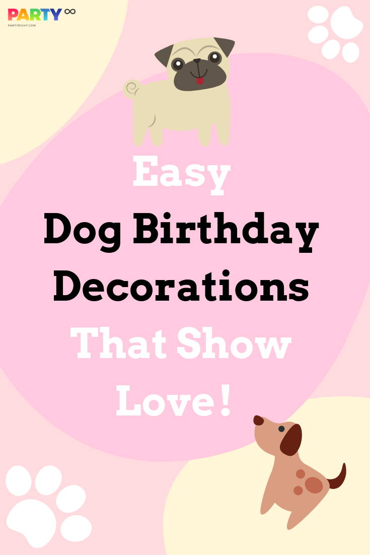 Easy Dog Birthday Decorations That Show Love!