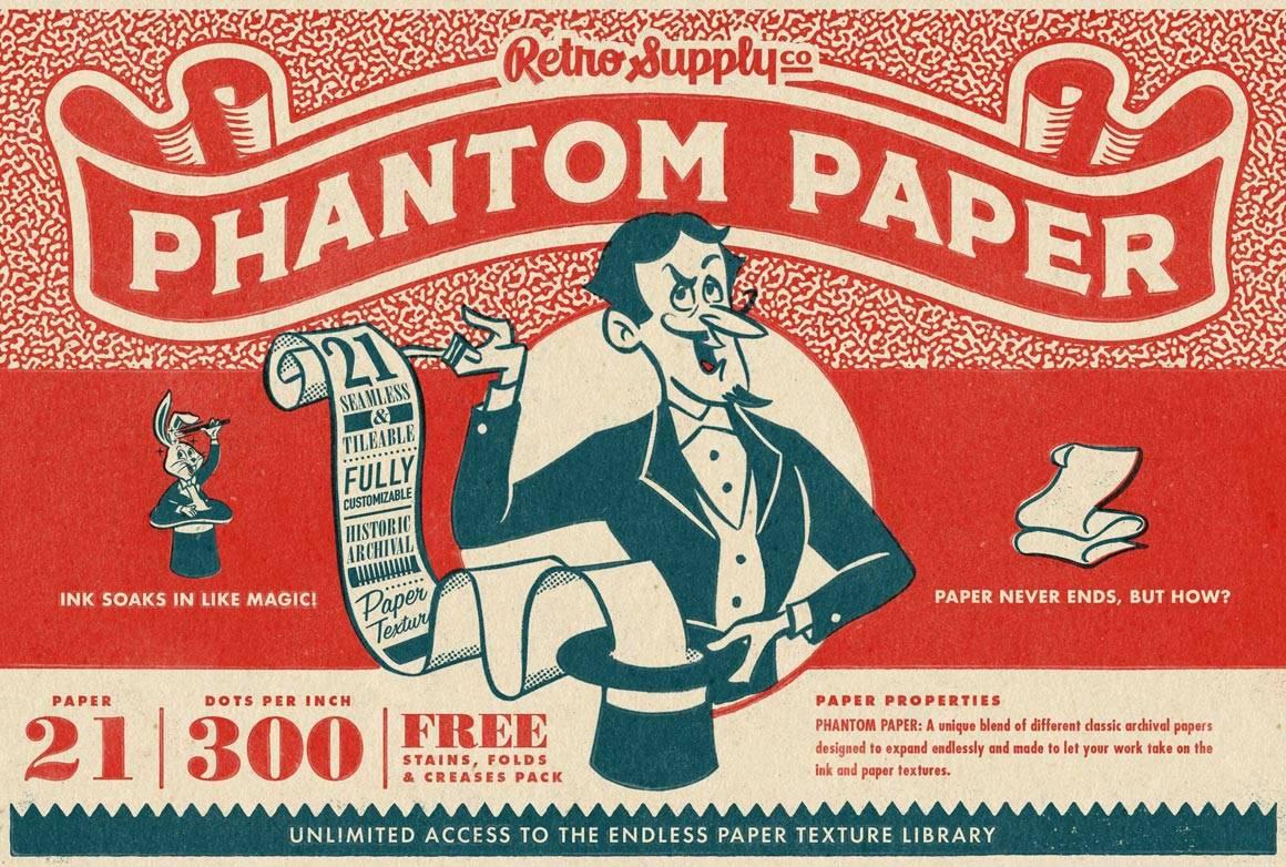 Phantom Paper   RetroSupply Co.