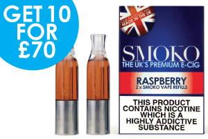 Himbeer Vape E-Zigarette Refill Angebote