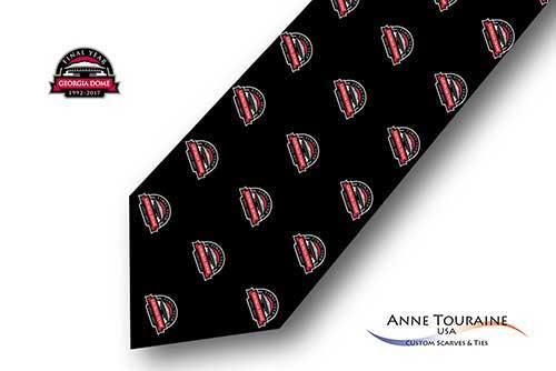 Repeated-logo-custom-ties-bow-ties-design-style-black