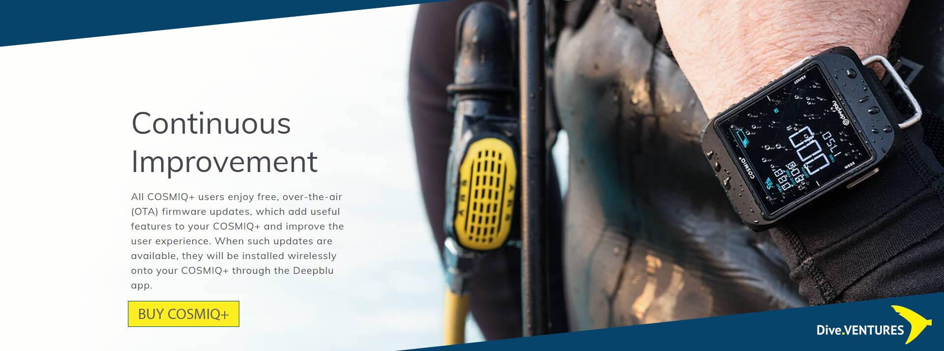 Deepblu COSMIQ+ | Dive.Ventures