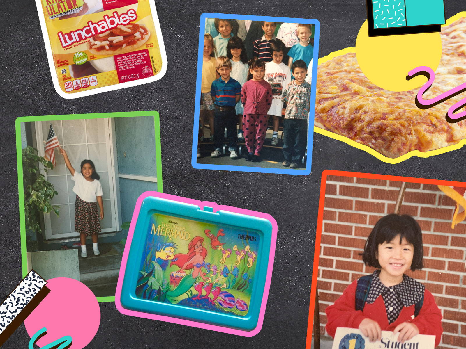 CALPAK Team collage of lunchtime favorites.