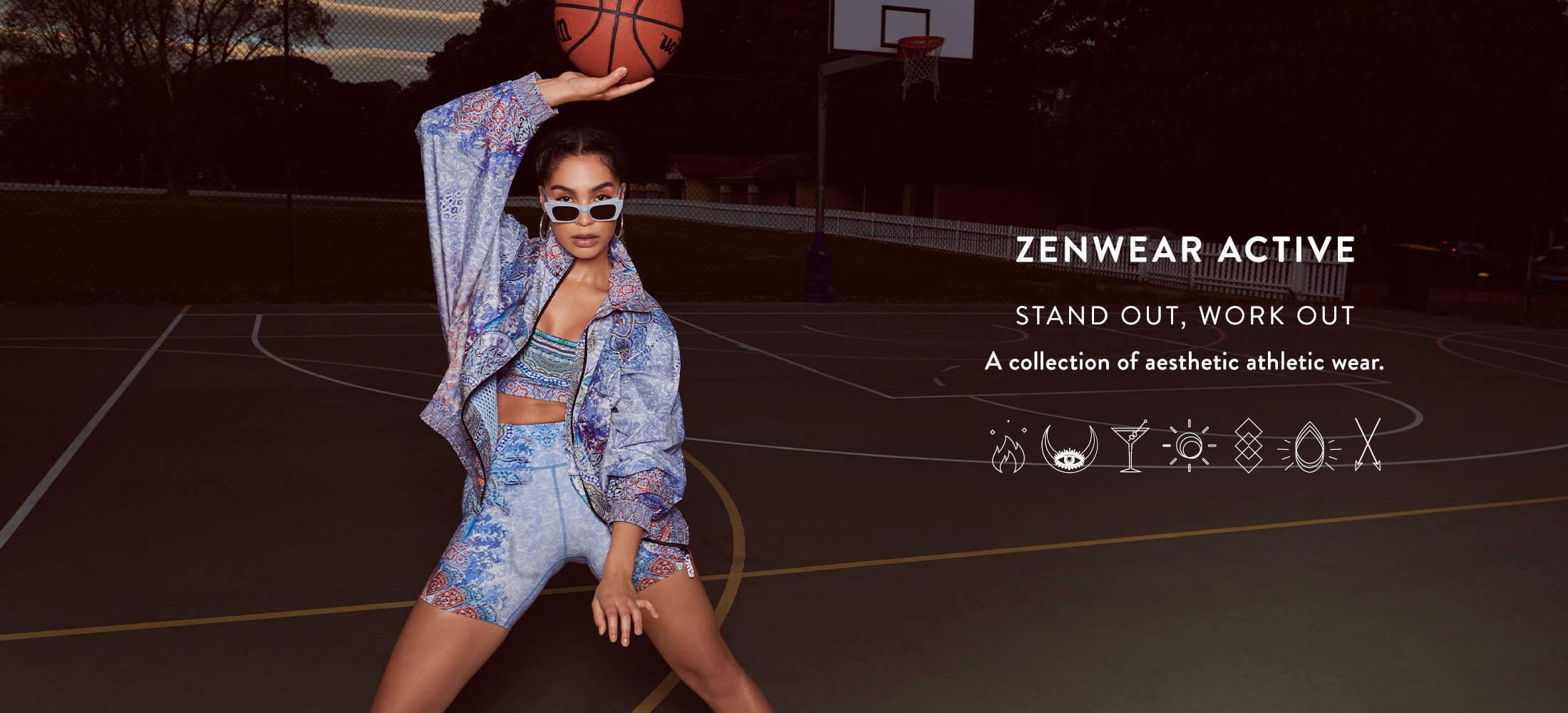 CAMILLA Zenwear Active, CAMILLA blue activewear