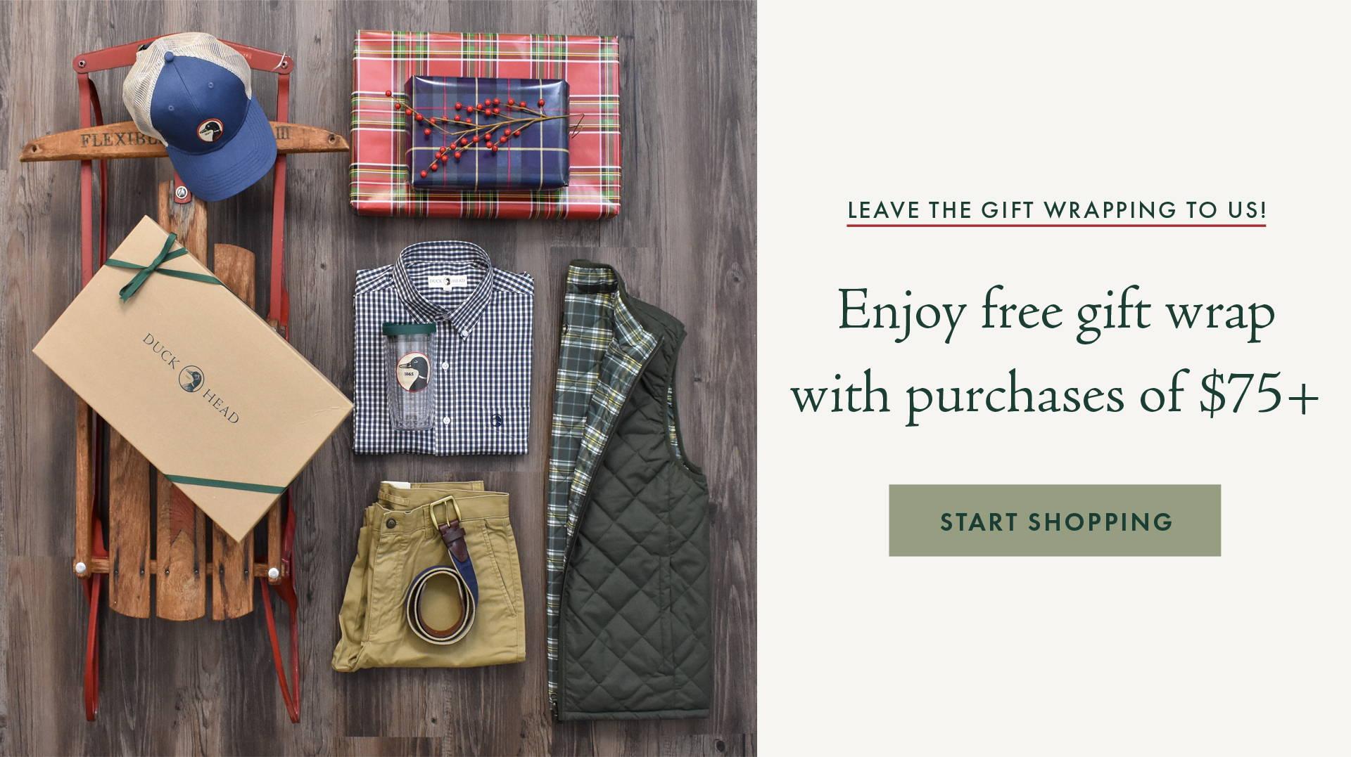 Free Gift Wrap