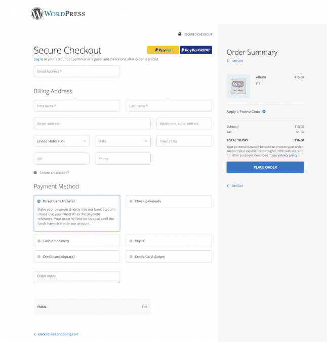 WooCommerce Checkout Suite Addon