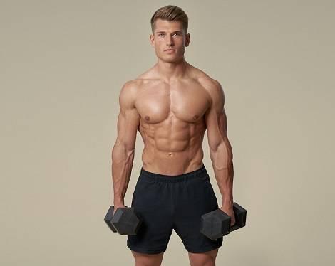 Wie groß ist die monatliche Gewichtszunahme durch Muskelaufbau Ernährung?