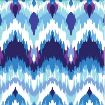 Sorority Ikat Fabric