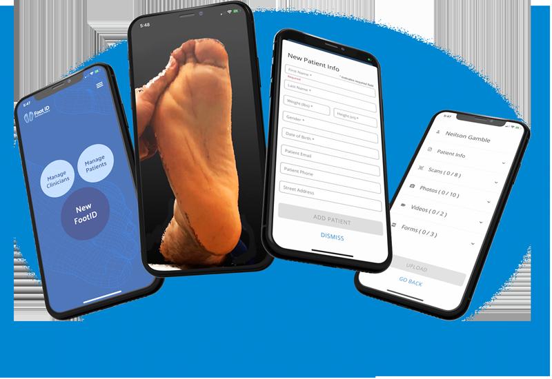 Foot ID Scan 3D technology orthotics braces KevinRoot Kevin Root Medical App iPhone iPad foot orthotics foot orthopedics podiatry surgery