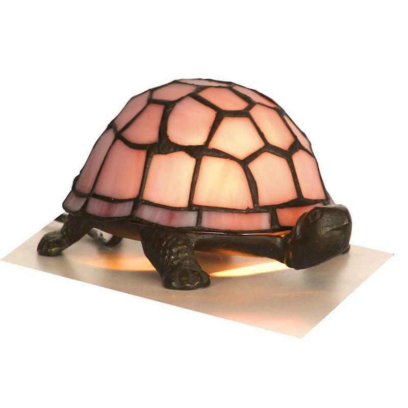 tiffany style animal lamp