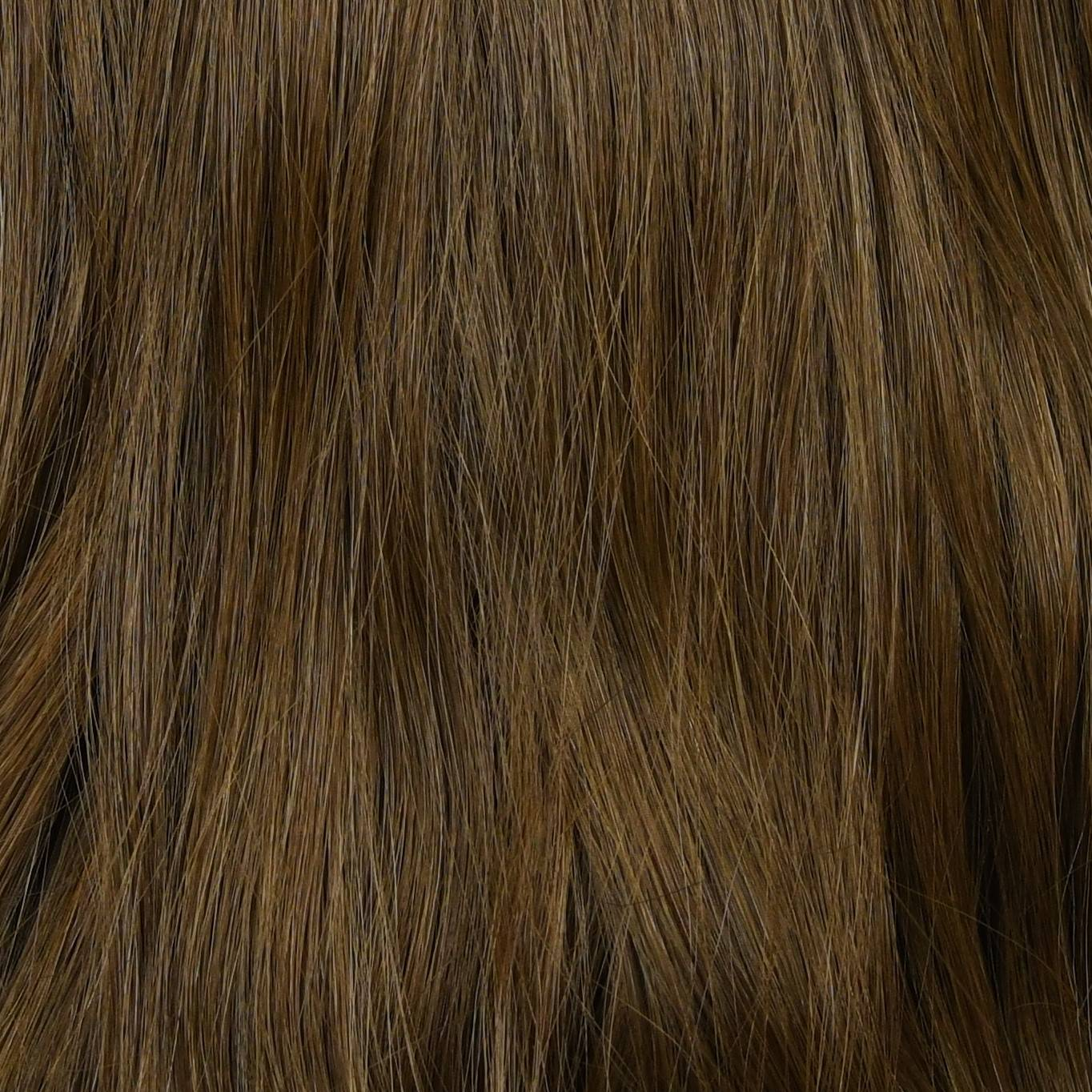 blend of light black and light brown hair extensions color sample in hair color chart