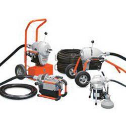 Ridgid drain cleaners; Ridgid Sectional Machines