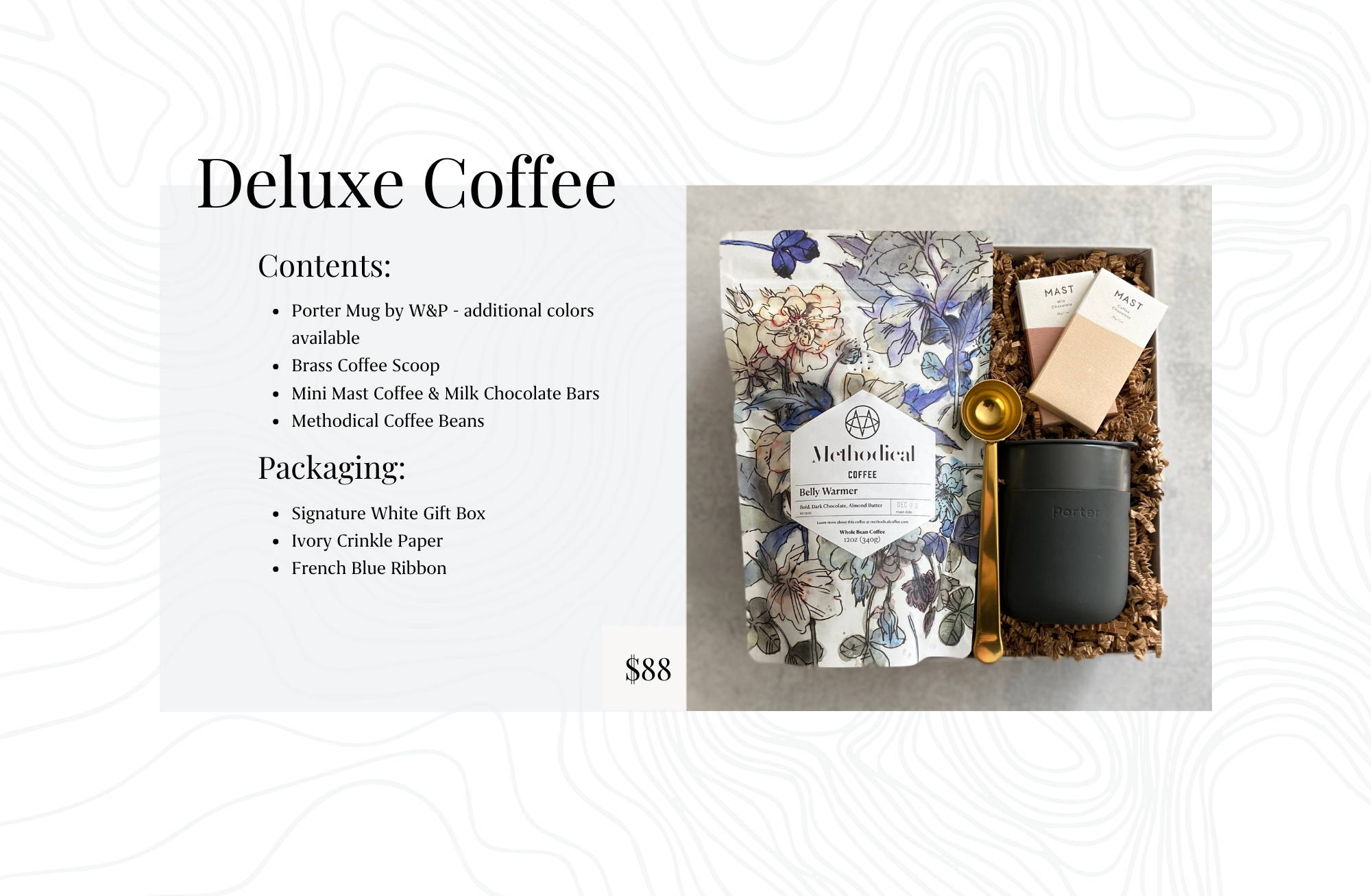 Coffee Themed Corporate Gift Box for Client, Employee or Virtual Event Gifting