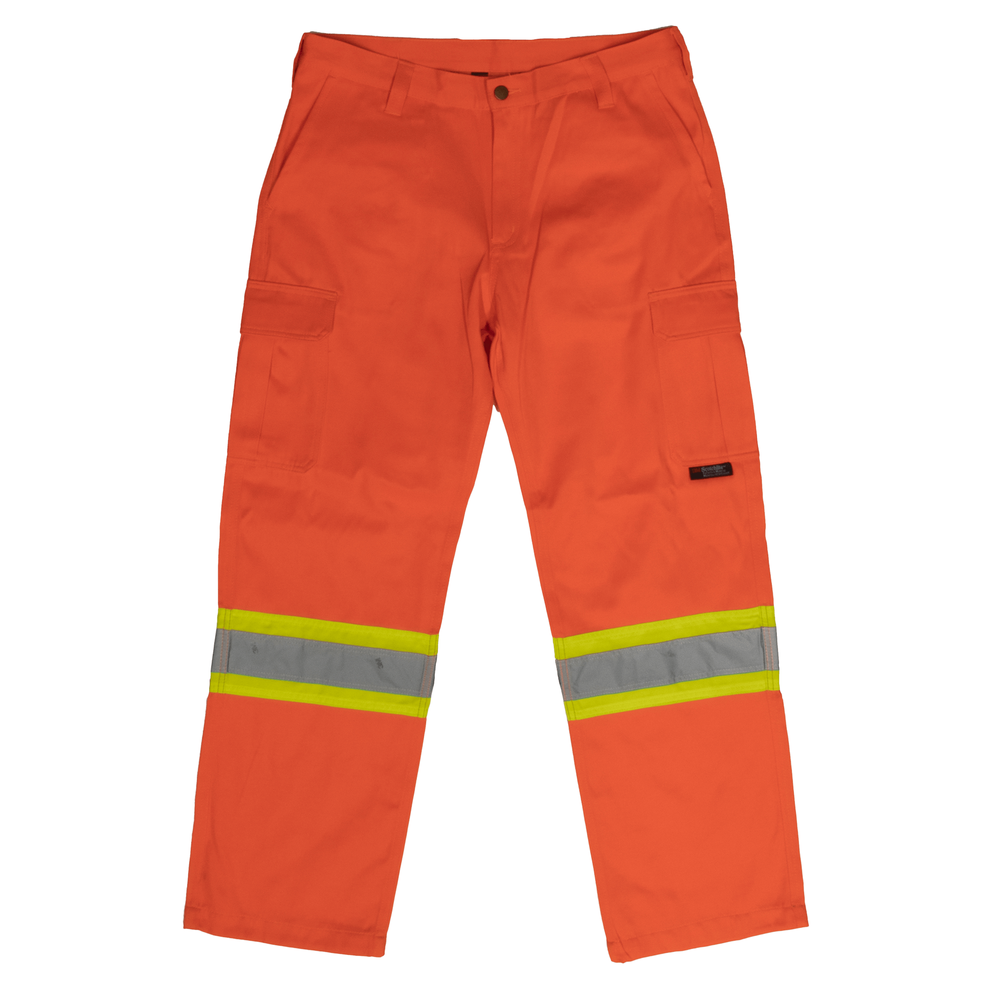 High Visibility Tough Duck Safety Cargo Work Pant SP01