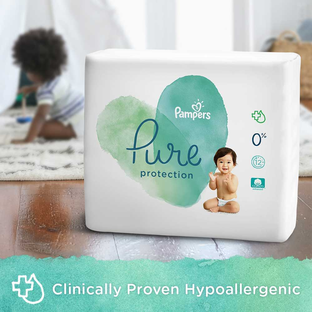 Pampers Pure Protection Diapers Are Clinically Proven Hypoallergenic