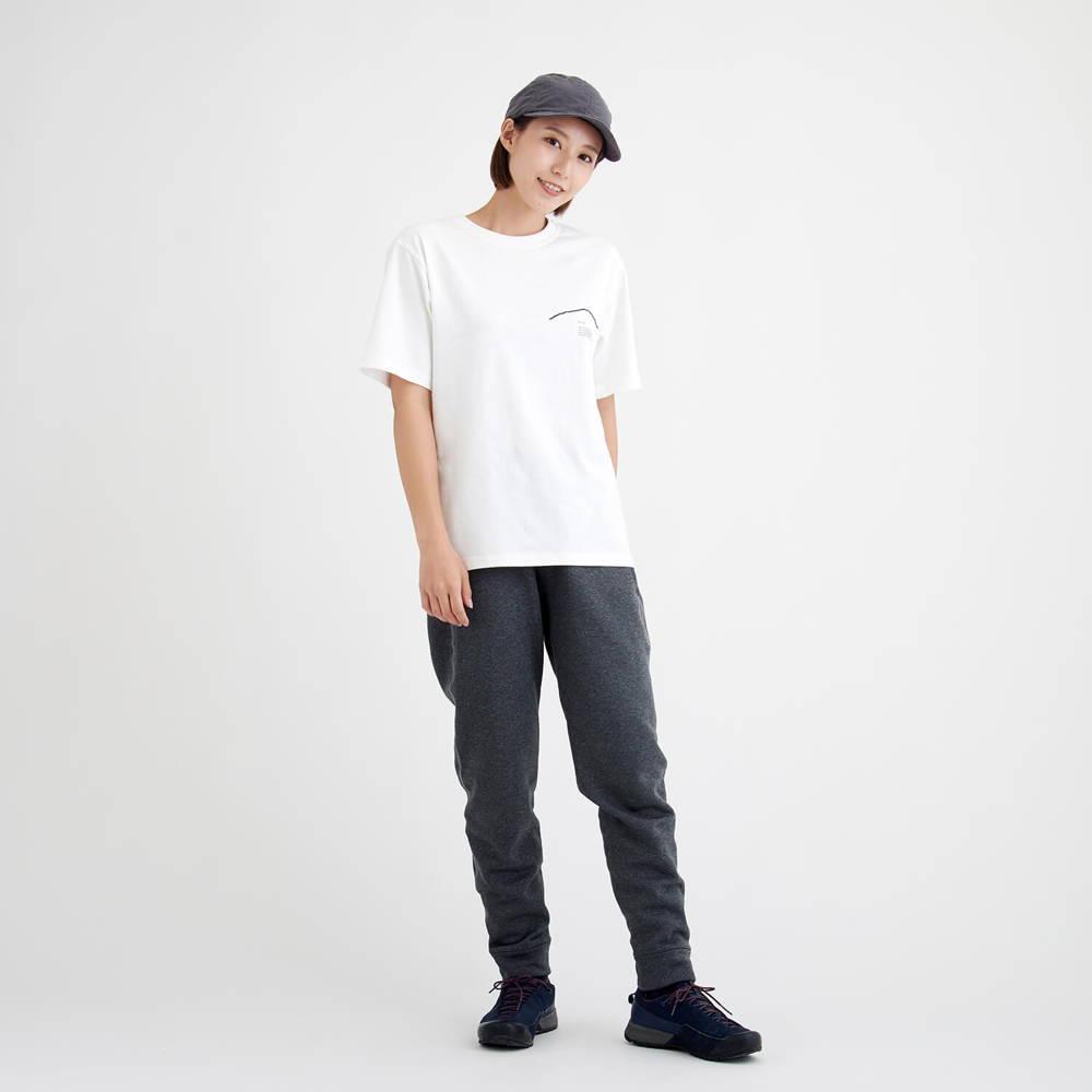 YAMAP×5ive(ヤマップ×ファイブ)/チャリティーTシャツ リターン/ホワイト/UNISEX