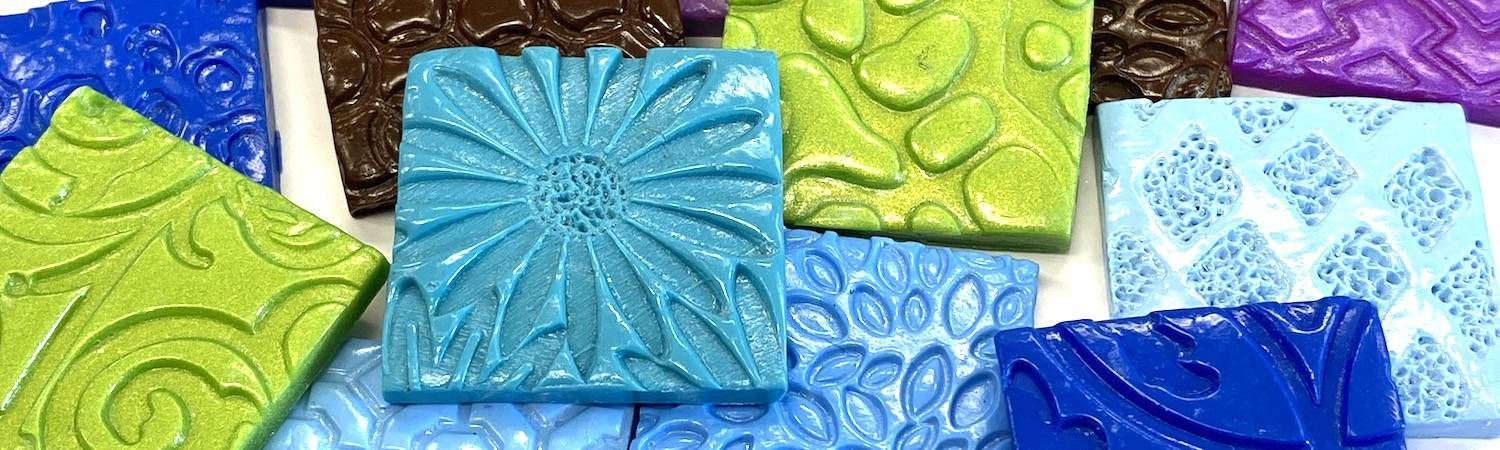 How to make your first polymer clay tile