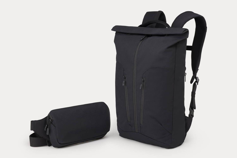 Minaal - Rolltop backpack and Crossbody bag
