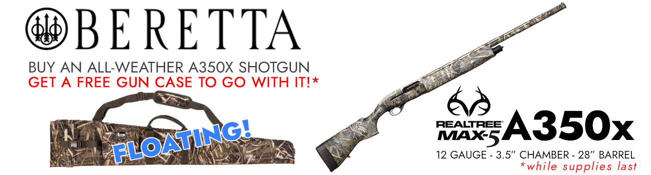 Beretta A350X Shotgun Floating Gun Case Offer!