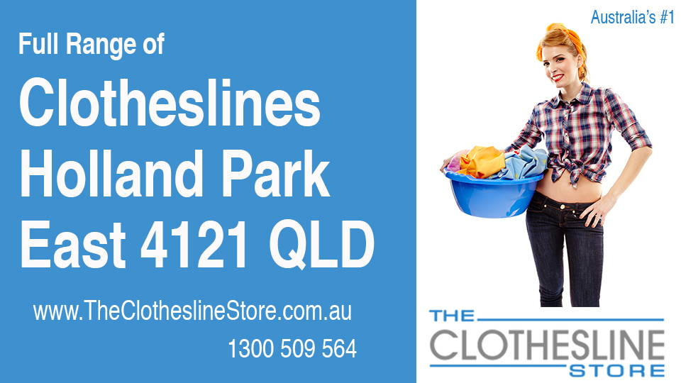 New Clotheslines in Holland Park East Queensland 4121