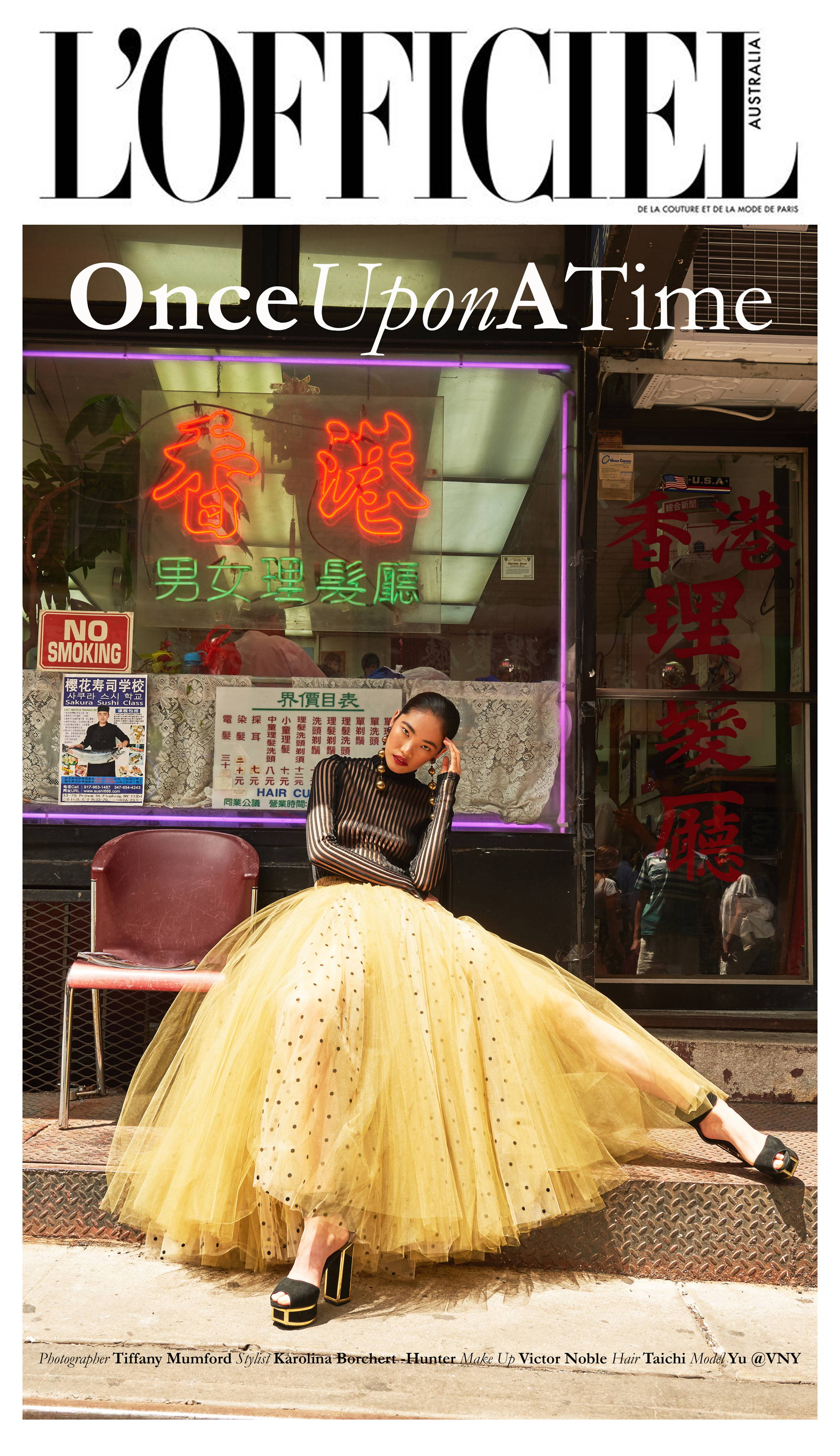 Flying Solo Independent Designers New York City L'Officiel Austrailia Photoshoot editorial Monzlapur Skirt