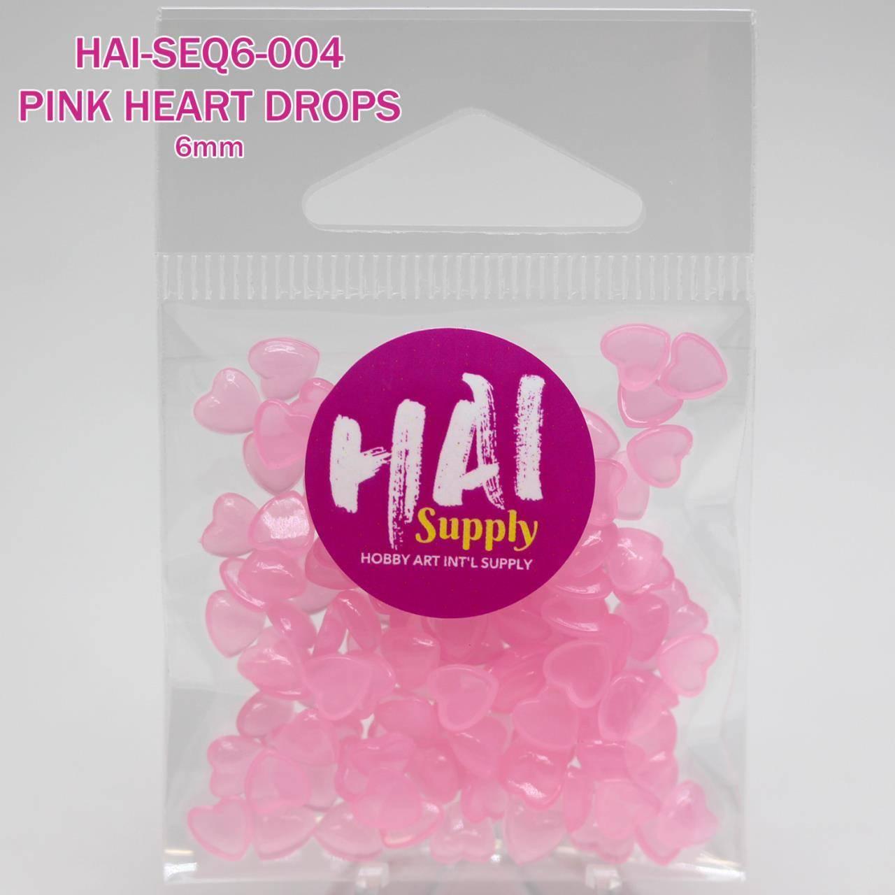 HAI Supply Pink Heart Drops