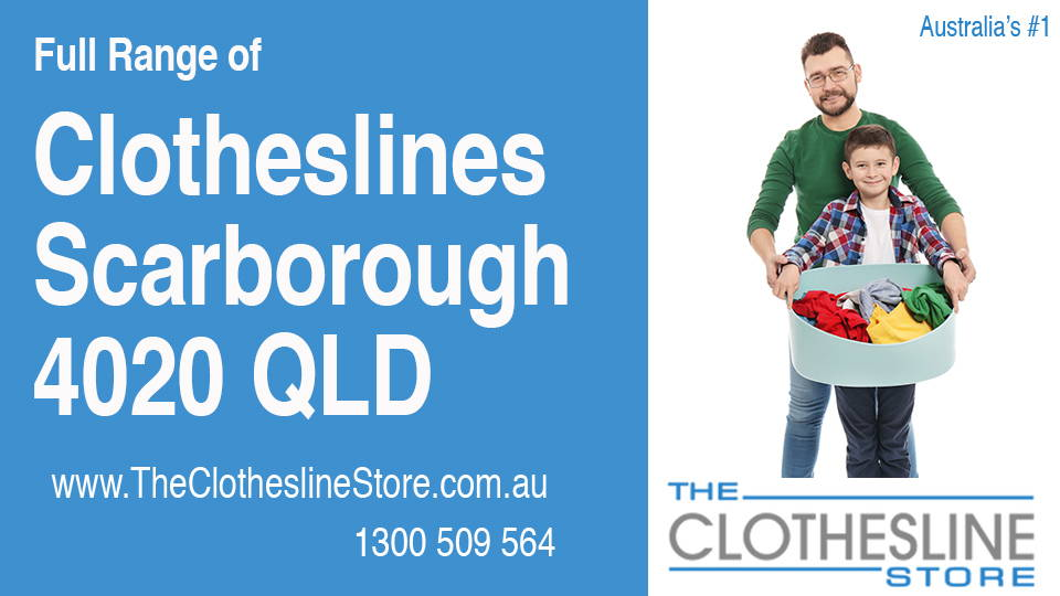 New Clotheslines in Scarborough Queensland 4020