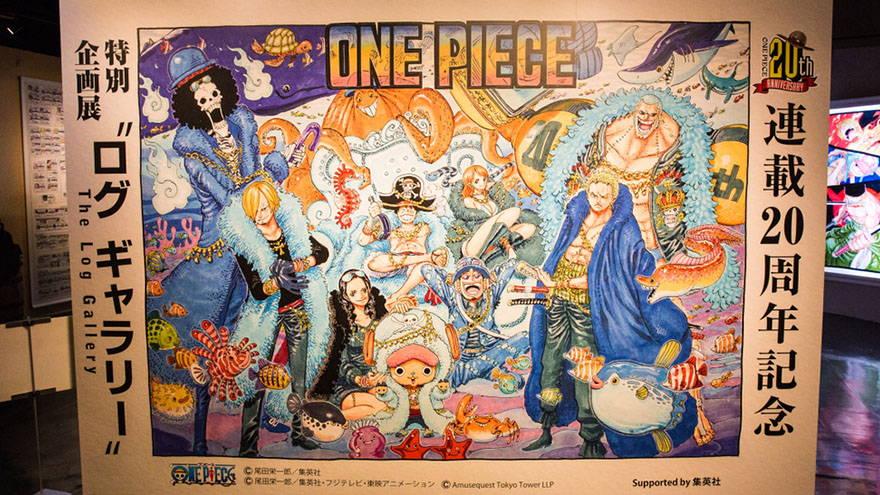 Tokyo One Piece Animation Art