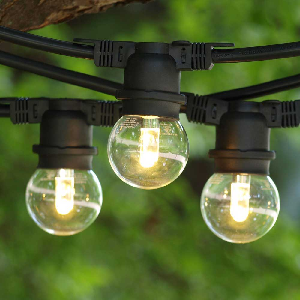 Warm White LED String Lights