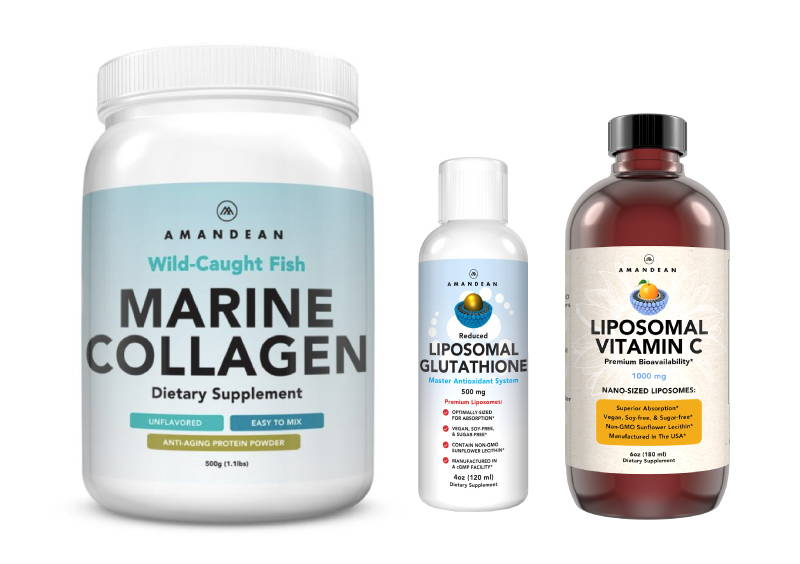 Beauty Collagen Antioxidant Liposomal Vitamin c
