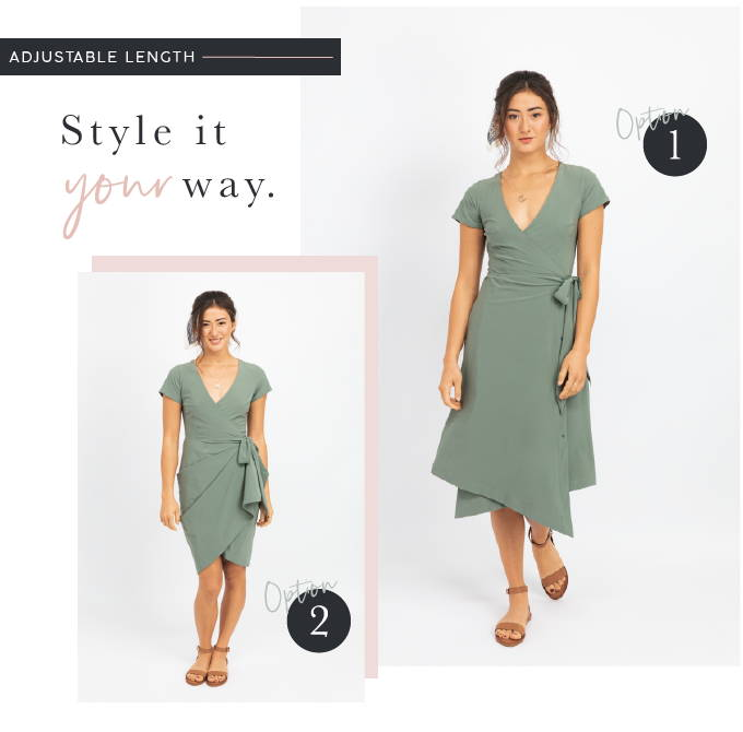 Convertible travel dress