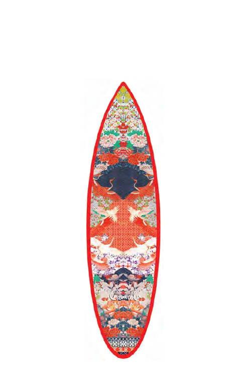 Camilla Geisha Girl Surfboard