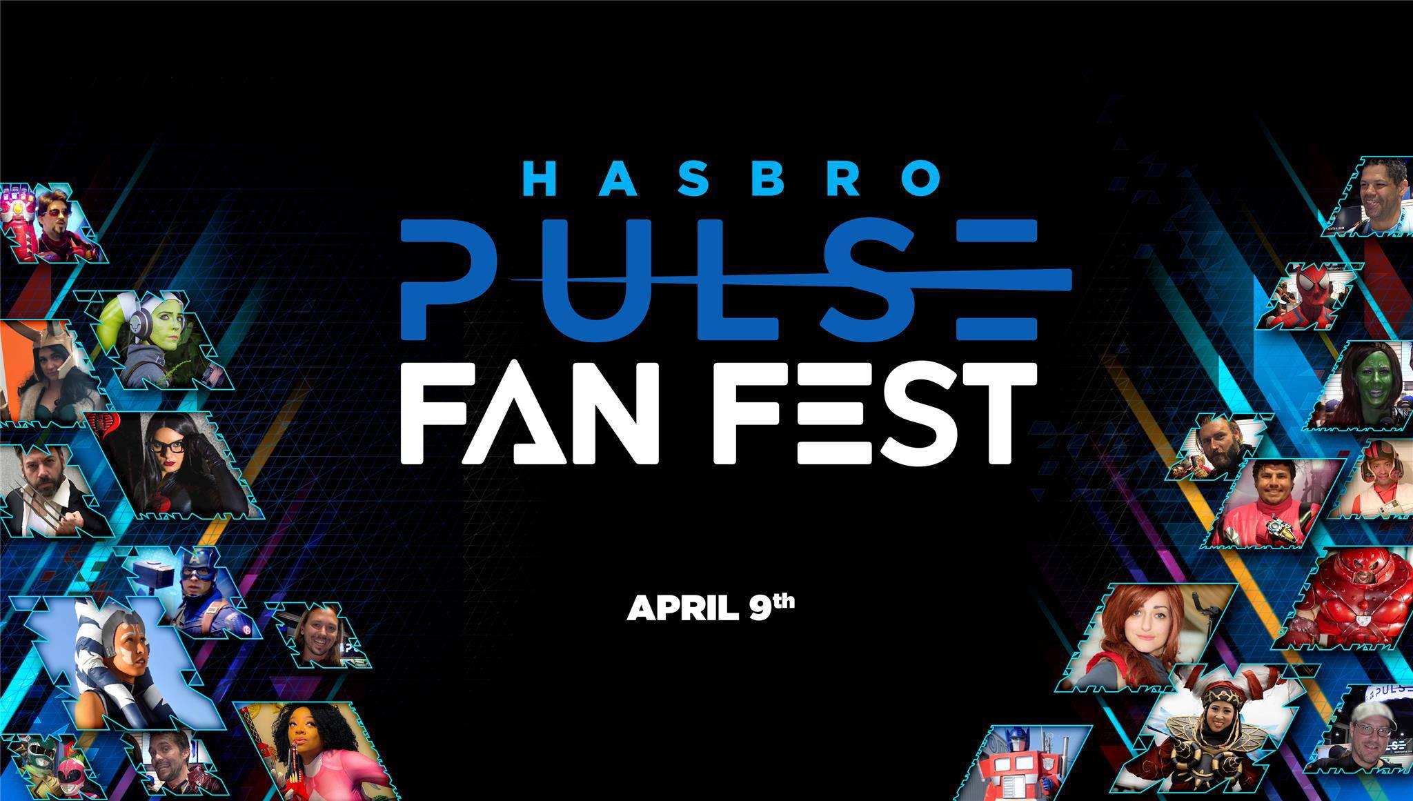 Watch the Hasbro Pulse Fan Fest Livestream on April 9 here