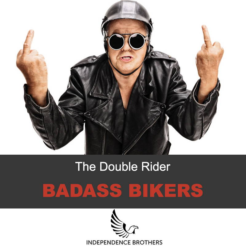 The double rider leather jacket