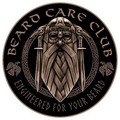 Beard Care Club Viking Logo Engineered For Your Beard