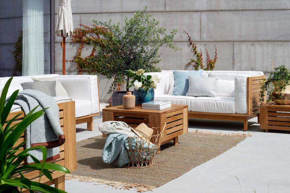 Teak Outdoor Furniture - Lounge Area