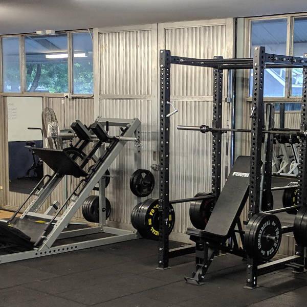 School Gym Fit Out Leg Press