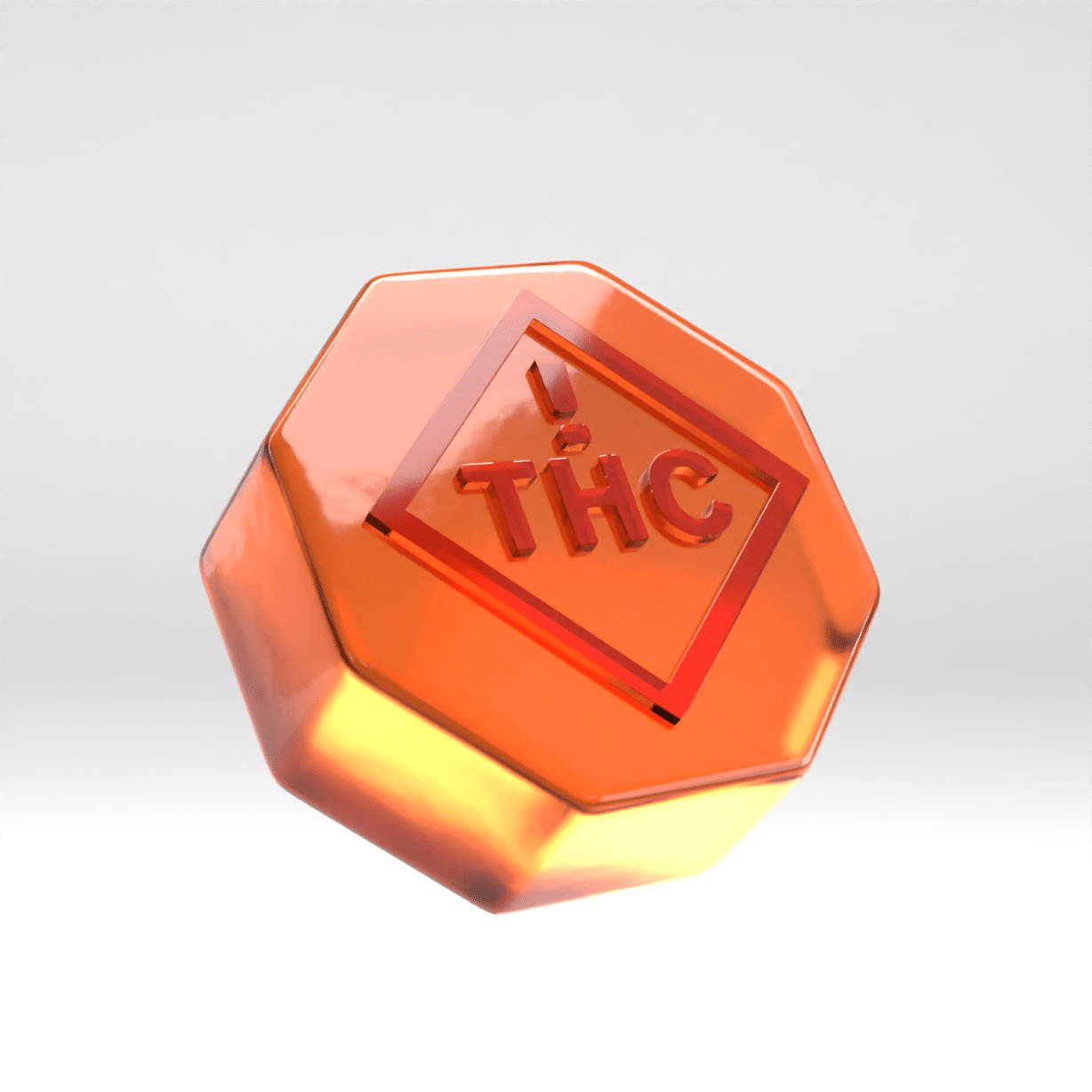 Octagon THC Gummy Mold