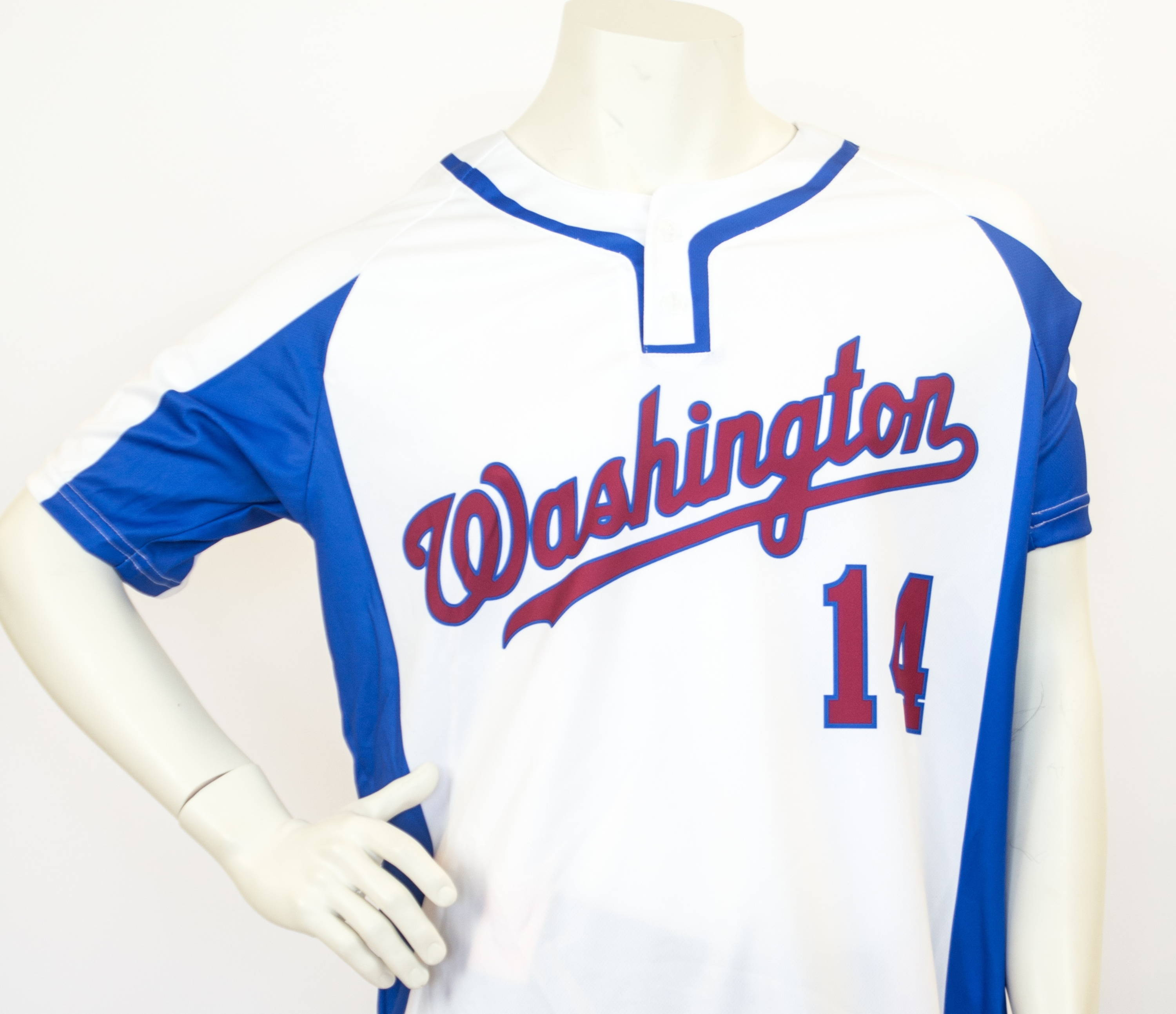Custom Sublimated 2-Button Baseball jersey