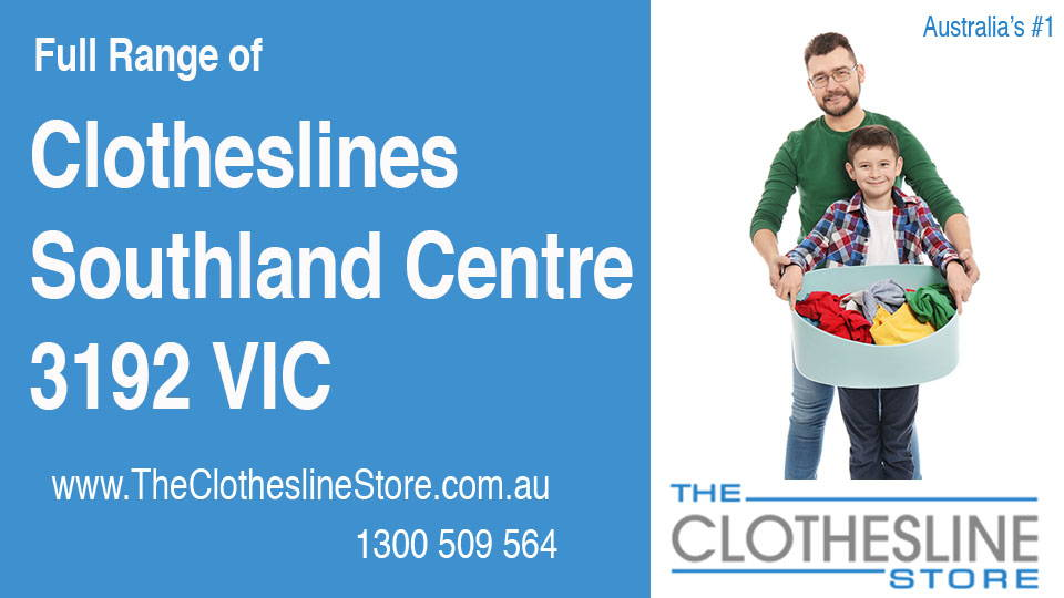 New Clotheslines in Southland Centre Victoria 3192